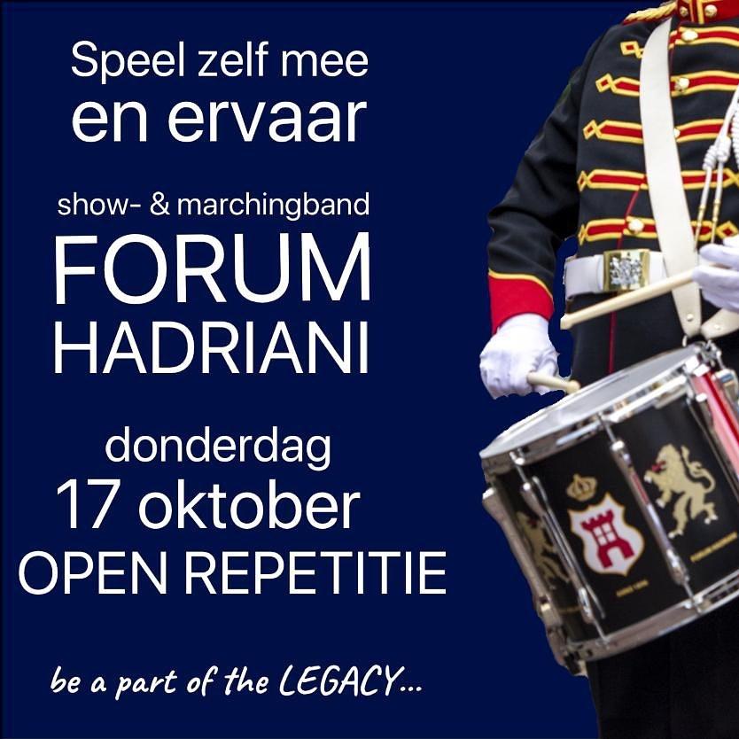 17 oktober open repetitie